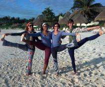 yoga teachers tulum uttita hasta